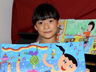 太田母斑女孩展自信 彩繪「跳舞的我最美麗」 -小陽光 小潔