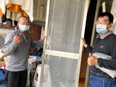 修理紗窗、紗門、換玻璃…